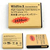 High Capacity Mobile Phone Battery For HTC Wildfire S A510E G13 Fits BA S540 BD29100 - More Power For Your Phone. High Capacity Replacement Battery - 2450MAH Uk Seller