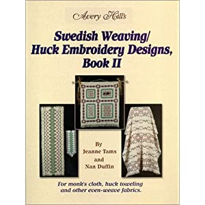 Swedish Weaving or Huck Embroidery - Sewing, Needlecraft, Thread