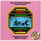 Rimma Bobritskaia: Miniatures Russes Pour Piano (Russian Miniatures for Piano)by Piotr Tchaikovski