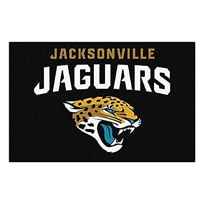 Fanmats NFL Jacksonville Jaguars Nylon Rug