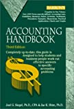 img - for Accounting Handbook (Barron's Accounting Handbook) book / textbook / text book