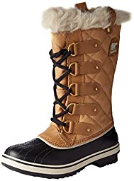 Sorel Women\'s Tofino Cate Boots, Curry/Black, 7.5 B(M) US