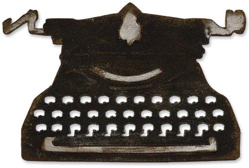 Sizzix Bigz Die - Vintage Typewriter by Tim Holtz (Typewriter Vintage compare prices)
