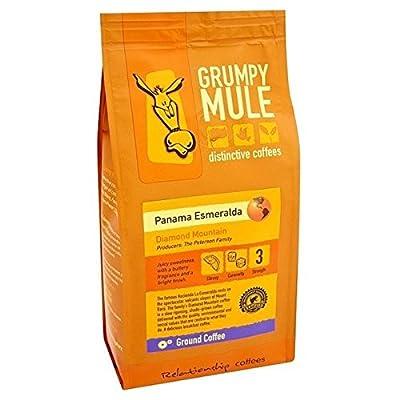 Grumpy Mule Coffee Panama Esmeralda Ground Coffee 227g - Pack of 6 from Grumpy Mule