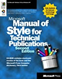 Microsoft Manual Of Style For Technical Publications (Second Edition) (1572318902) by Microsoft Press
