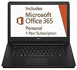"2016 Newest Dell Inspiron 14.1"" Laptop includes 1-year Office 365 and 1TB Cloud Storage, Intel Dual-Core Celeron Processor, 2GB RAM, 32GB Flash Storage, Webcam, HDMI, Windows 10 Home"