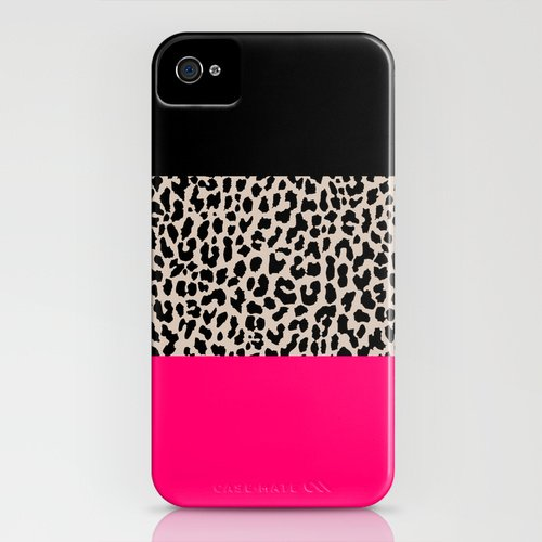 society6 Leopard National Flag IV iPhone GALAXY ケース [並行輸入品] (iPhone4/4s)