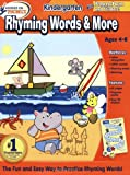 img - for Hooked on Phonics Kindergarten Rhyming Words & More Workbook book / textbook / text book