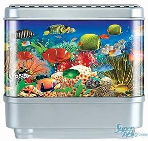 Aquarium seabed motion night light fish lamp tropical for Fish tank night light