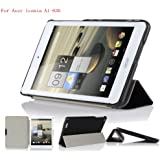 IVSO Acer Iconia A1-830 Ultra Lightweight Slim Smart Cover Case-(Lifetime warranty)-will only fit Acer Iconia A1-830 Tablet (Black)