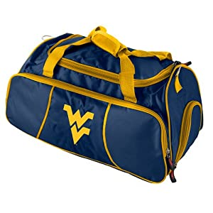 Buy Brand New West Virginia Mountaineers NCAA Athletic Duffel Bag by Things for You