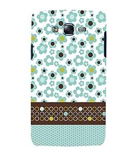 Floral Pattern 3D Hard Polycarbonate Designer Back Case Cover for Samsung Galaxy J7 (2015) :: Samsung Galaxy J7 J700F (Old Version)