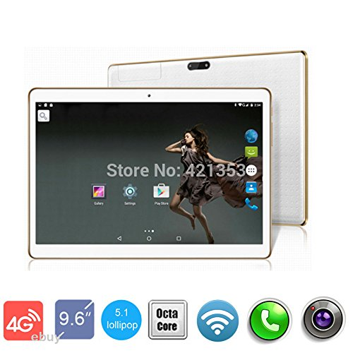 4G LTE White 9.7 inch 8 core Tablet PC Octa Cores 2560X1600 IPS RAM 4GB ROM 32GB 8.0MP WIFI 4G Dual sim card Wcdma+GSM Tablets PCS Android5.1