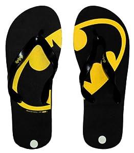 Batman Logo DC Comics Superhero Flip Flops Sandals by Concept One