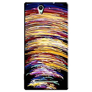 LIGHT EFFECTS BACK COVER FOR SONY XPERIA C3