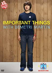 Important Things with Demetri Martin: Season 1