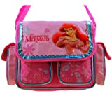 Pink Princess Ariel Little Mermaid Messenger Laptop Bag