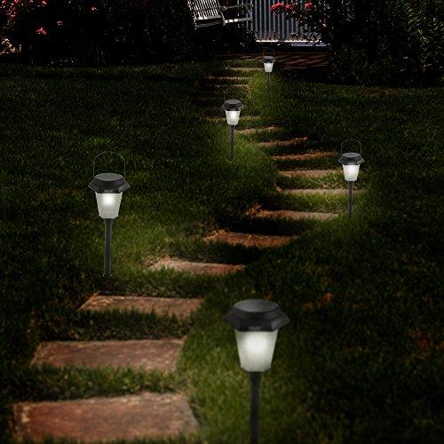 solar garden light hexagon solar lights solar tree lighting new