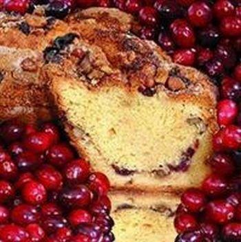 My Grandma Crlgc16N Large- 10 In.- 3.1 Lbs Presliced Cape Cod Cranberry Coffee Cake#44; No Nuts