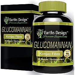 Glucomannano, pura fibra di radice di Konjac - Aiuta la digestion