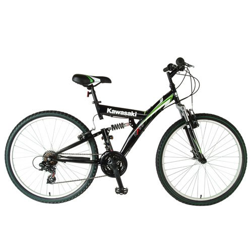 Kawasaki KDX1 26-Inch Dual Suspension Mountain Bike
