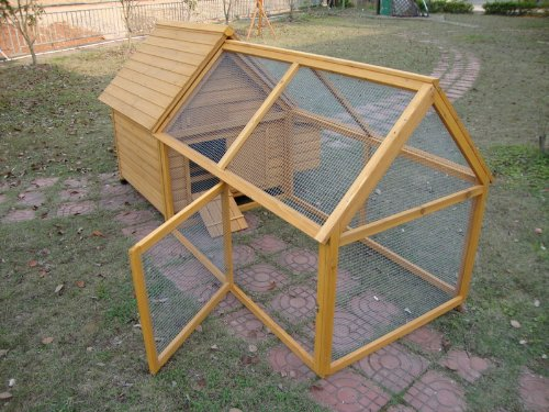 COCOON CHICKEN COOP HEN HOUSE POULTRY ARK NEST BOX NEW - MODEL 600 WITH DETACHABLE HUGE 1.4M RUN
