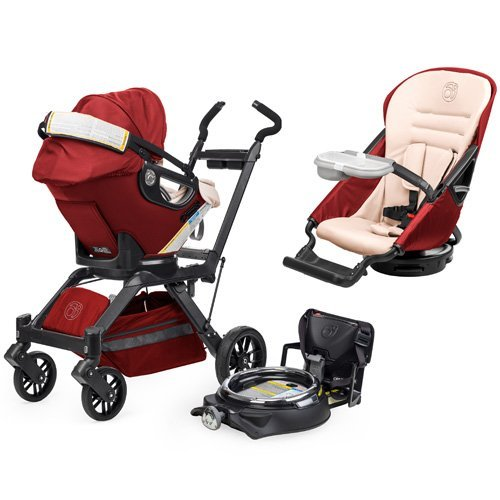 Orbit Baby Infant Travel Collection G3 - Ruby / Slate - 1