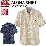(カンタベリー) canterbury アロハシャツ メンズ 半袖 シャツ スポーツウェア 紳士・男性用 ALOHA ラグビー RA36135