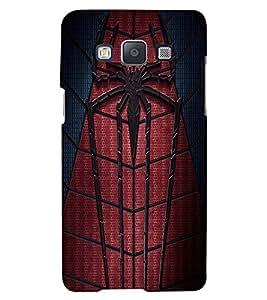 Printvisa Spider Man Web Back Case Cover for Samsung Galaxy E7::Samsung Galaxy E7 E700F