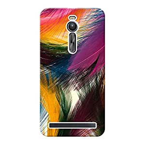 Mobile Back Cover For Asus Zenfone 2 ZE551ML (Printed Designer Case)
