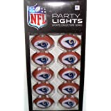 NFL Officially Licensed St Louis Rams Sports Collectors Series Party Lights