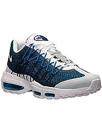 Men's Nike Air Max 95 Ultra Jacquard Running Shoes Navy/White 749771-401 (13)