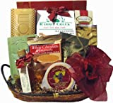Delight Expressions™ Morning Delights Gourmet Food Gift Basket - A Christmas Gift Idea! - Birthday or Get Well Gift