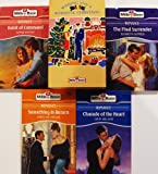 img - for MILLS BOON (ROMANCE) Wishing You A Romantic Christmas 4 Book Box Set: Charade of the Heart, Something In Return, The Final Surrender, Habit of Command book / textbook / text book