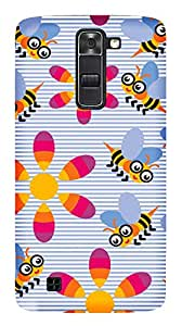 TrilMil Printed Designer Mobile Case Back Cover For LG K7