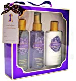 Victoria's Secret Love Spell 3 Pcs Gift Box Set Includes Body Mist, Body Lotion and Body Wash