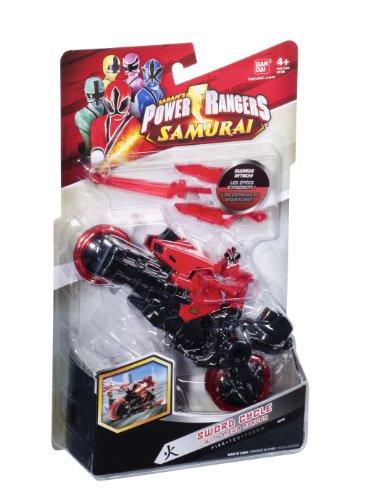 bandai power rangers super samurai moto y figura 10 cm color rojo. Black Bedroom Furniture Sets. Home Design Ideas
