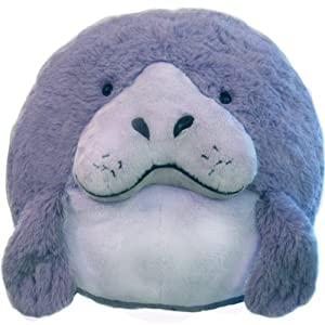 "Squishable Manatee 15"" Plush Toy"