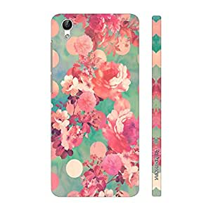 Enthopia Designer Hardshell Case Flowery Summer Back Cover for Vivo Y51L