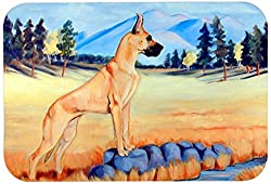 Carolines Treasures 7504JCMT Great Dane Kitchen or Bath Mat, 24 by 36 , Multicolor