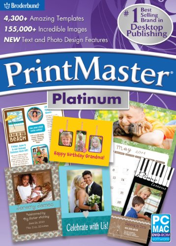 Encore Software PrintMaster Platinum V6 (Font Software For Mac compare prices)