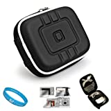 Product B0019I2AYG - Product title Flip Video Carrying Case for Flip Video Ultra Series Camcorder with Screen Protector Kit (Eva Black) and SumacLife TM Wisdom Courage Wristband