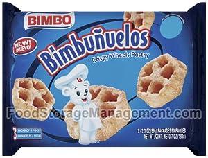 Sweet Baked Goods Bimbunuelos 2.3 Oz Packs Bimbo Crispy Wheels (2pk