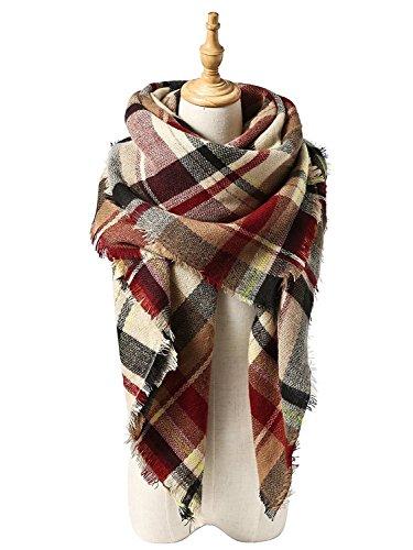 Zando-Soft-Warm-Tartan-Plaid-Scarf-Shawl-Cape-Blanket-Scarves-Fashion-Wrap