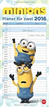 Minions Planer für zwei 2016