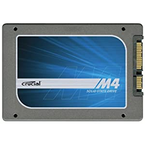 Crucial m4 256GB 2.5-Inch (9.5mm) SATA 6Gb/s Solid State Drive CT256M4SSD2