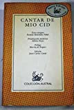 img - for Cantar de Mio Cid book / textbook / text book