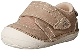 Stride Rite SM Kellen Sneaker (Infant/Toddler), Tan, 3 M US Infant
