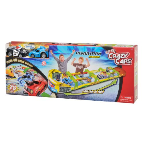 Crazy Cars Demolition Raceway Playset (Demo Derby Cars compare prices)