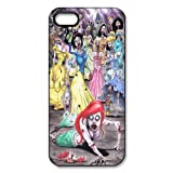 Alicefancy The Zombie Princess Custom Style Plastic Hard Cover Case For Iphone 5 QYF21204